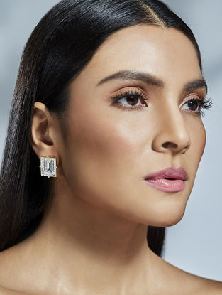 Confluence Crystals from Swarovski Shivan and Narresh Solitaire Earrings