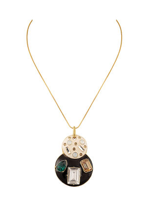 Confluence Crystals from Swarovski Shivan and Narresh Emerald Jazz Necklace