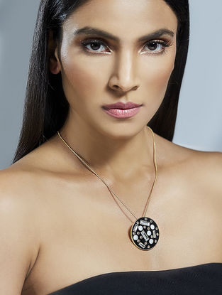 Confluence Crystals from Swarovski Shivan and Narresh Monochrome Necklace
