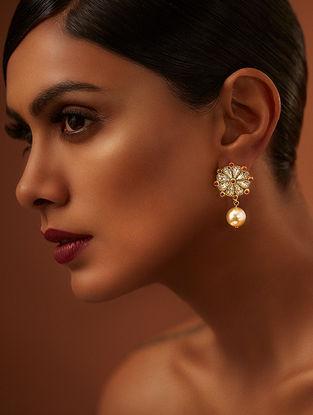 Confluence Crystals from Swarovski Tarun Tahiliani Tara Peral Earrings