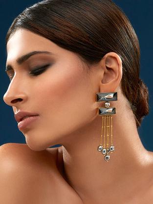 Confluence Crystals from Swarovski JJ Valaya Ranas Warrior Princess Tiered Earring