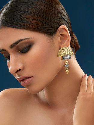 Confluence Crystals from Swarovski JJ Valaya Warrior Princess Melange Earring