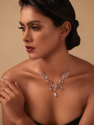 Confluence Crystals from Swarovski Eina Ahluwalia La Rinascita Necklace