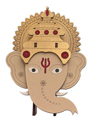 Lord Ganesha DIY Puzzle in Wood