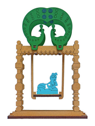 Bal Gopal Krishna DIY Puzzle in Wood