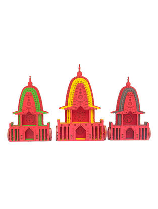 Rath Yatra DIY Puzzle in Wood