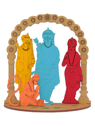 Ram Parivar DIY Puzzle in Wood