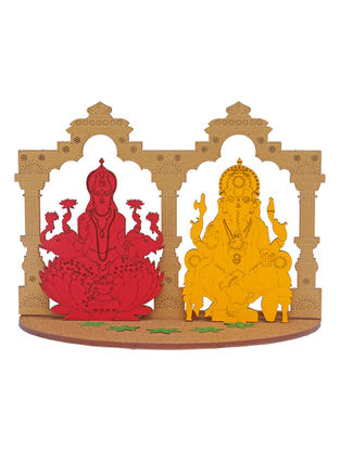 Goddess Lakshmi and Lord Ganesha DIY Puzzle in Wood