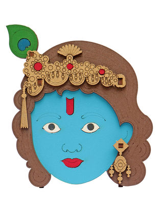 Lord Krishna DIY Puzzle in Wood