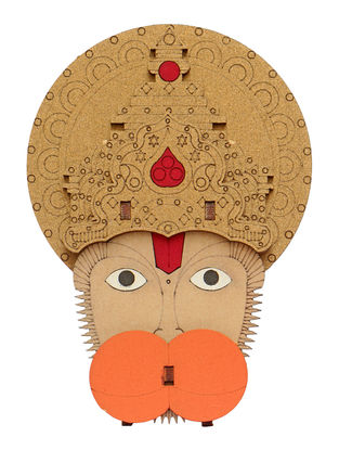 Lord Hanuman DIY Puzzle in Wood
