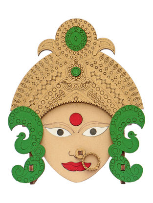 Goddess Durga DIY Puzzle in Wood