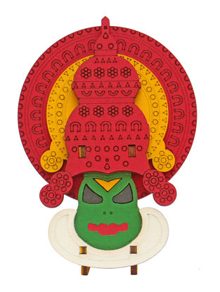 Kathakali Sathwika DIY Puzzle in Wood