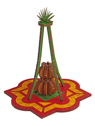Pongal DIY Puzzle in Wood
