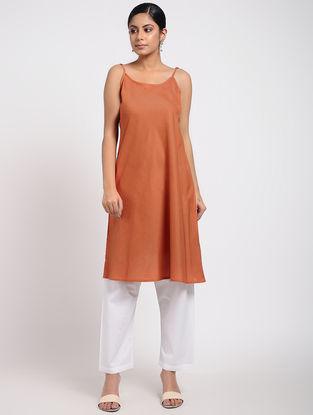 Orange Cotton Slip