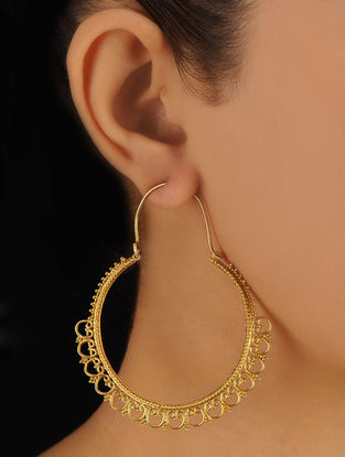 Pair of Classic Silver Earrings