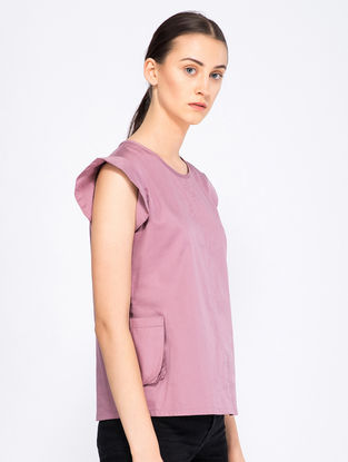 Mauve Organic Cotton Top