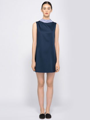 Navy Blue Organic Cotton Dress