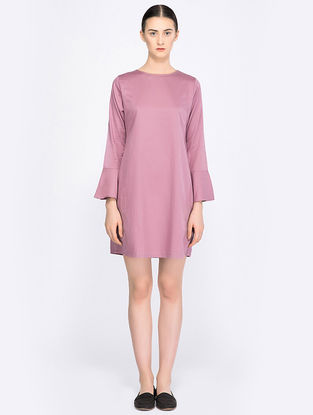 Mauve Organic Cotton Dress