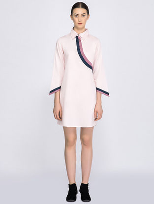 Pink Organic Cotton Shirt Dress