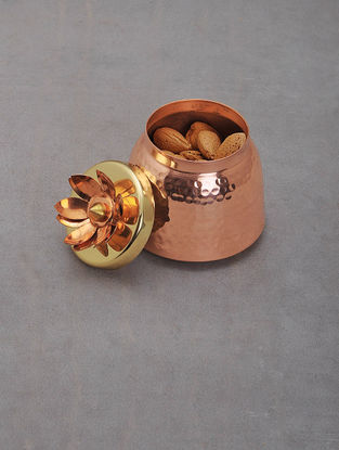 Handcrafted Copper and Brass Jar