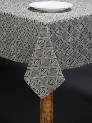 Grey Cotton 4 Seater Table Cover (60in x 60in)