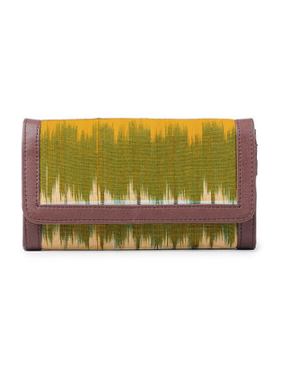 Multicolored Ikat Cotton Wallet