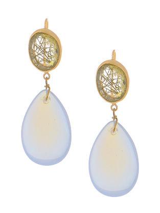 Rutile Gold-plated Brass Earrings