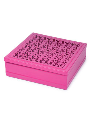 Pink Chantilly Gift Box (7in x 7in x 2.1in)