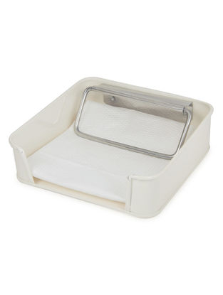 Ivory Tissue Paper Holder (7.2in x 7.1in x 2.1in)