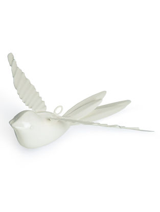 Ivory Rockstar Birds (7.1in x 7.6in) (Set of 2)