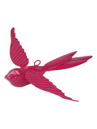 Pink Rockstar Birds (7.2in x 7.2in) (set of 2)