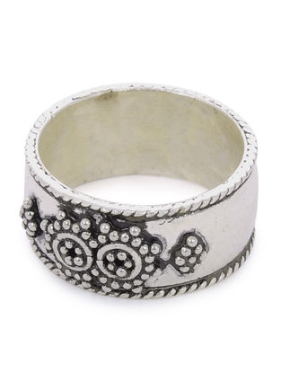 Classic Silver Ring (Ring Size -7 )