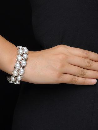 Pearl Silver Cuff