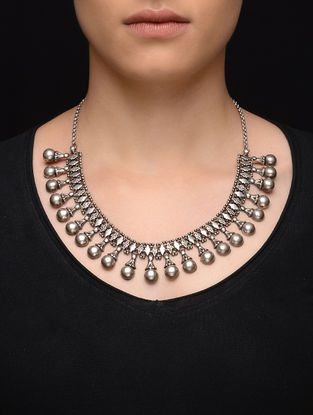 Tribal Silver Necklace