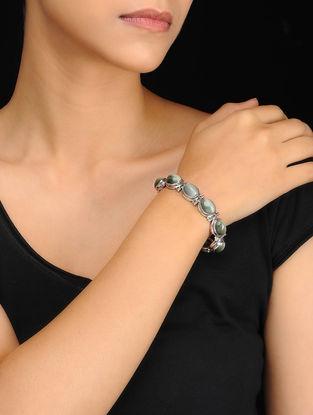 Grey Silver Bracelet