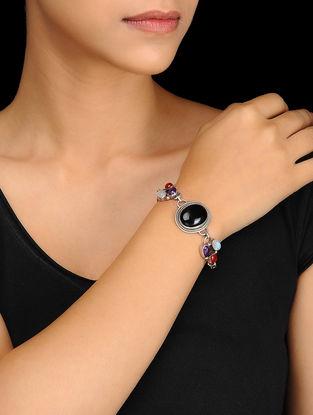 Multicolored Silver Bracelet