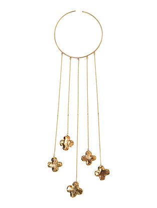 Marigold Brass Necklace