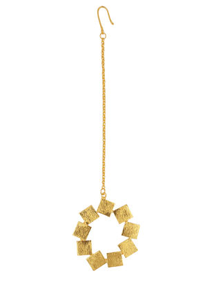 Classic Gold Tone Handcrafted Mang Tikka