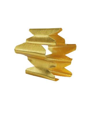 Classic Gold Tone Handcrafted Cuff