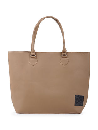 Tan Structured Tote