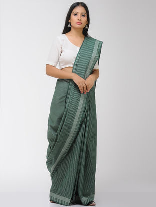 Green Chettinad Cotton Saree