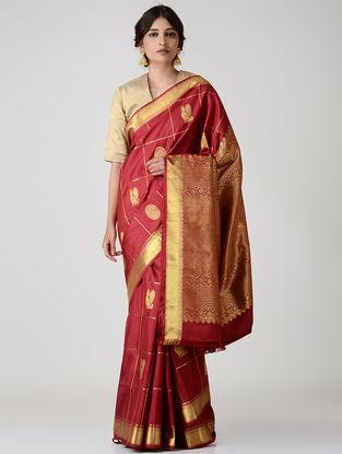 Red Kanjivaram Silk Saree