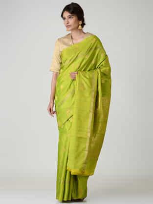 Green Kanjivaram Silk Saree