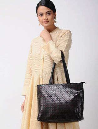 Black Handcrafted Tote