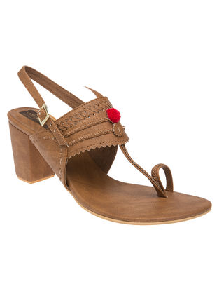 Brown Handcrafted Sandals