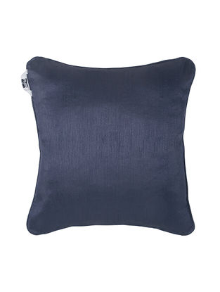 Navy Polyester Cushion Cover (16in x 16in)