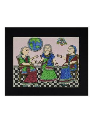 Amita Madhubani Art Panel-Chetna