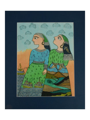 Amita Madhubani Art Panel-Mahi