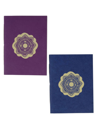 Chakra Madhubani Pocket Notebook-Set of 2