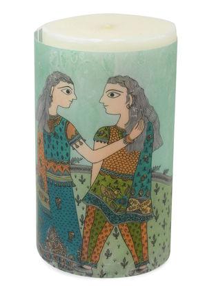 Amita Madhubani Aromatic Art Candle-Mita